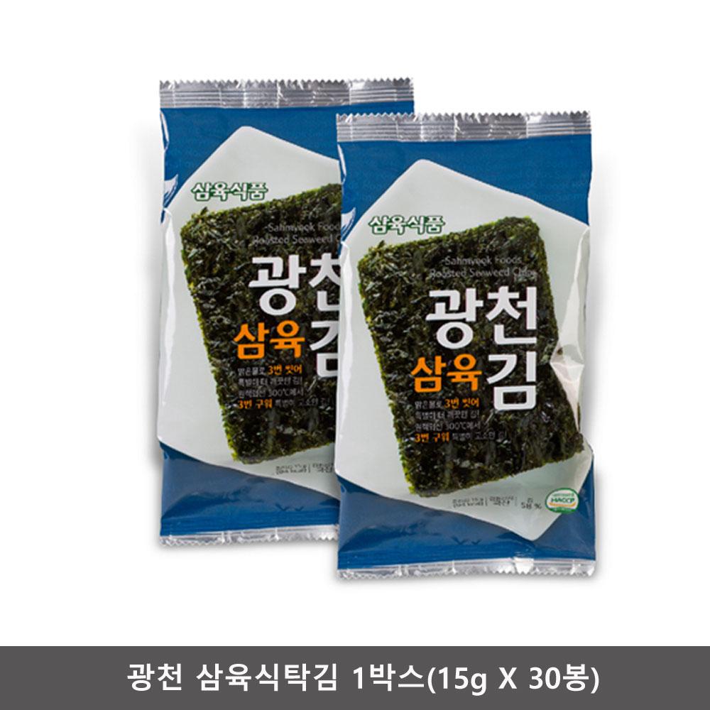 삼육 광천삼육식탁김 1박스(15g X 30봉)